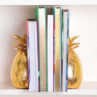 Pineapple Bookends, set of 2 - AllModern