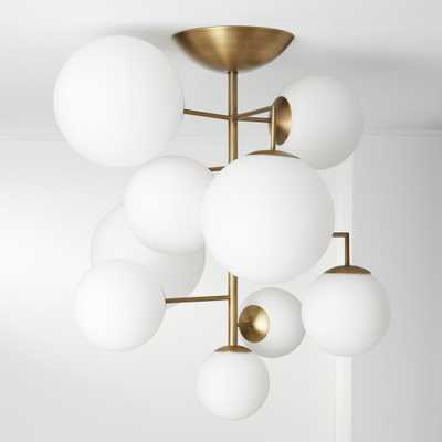 Artemis Frosted Chandelier - CB2