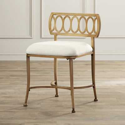 Scates Vanity Stool - Birch Lane
