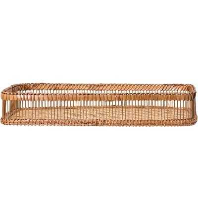 Dorris Bamboo Coffee Table Tray - Birch Lane