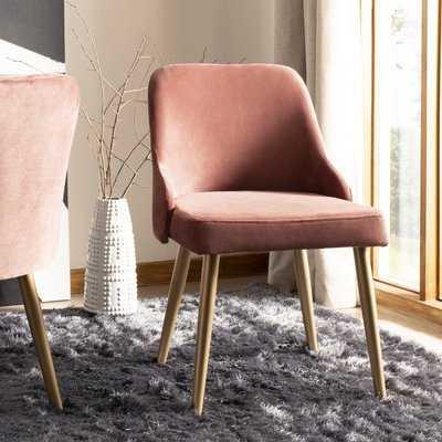 Dinwiddie Upholstered Dining Chair - pink- set of 2 - Wayfair
