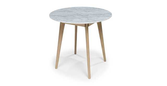 Mara Oak Cafe Table - Article