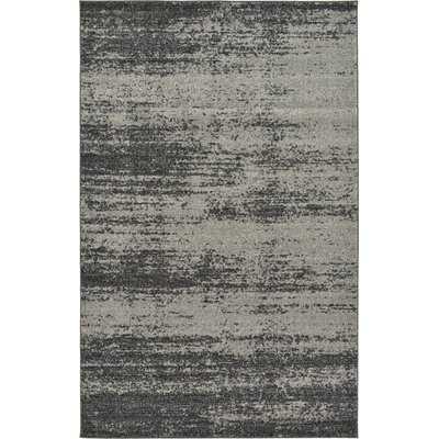 Croslin Dark/Light Gray Area Rug - Wayfair