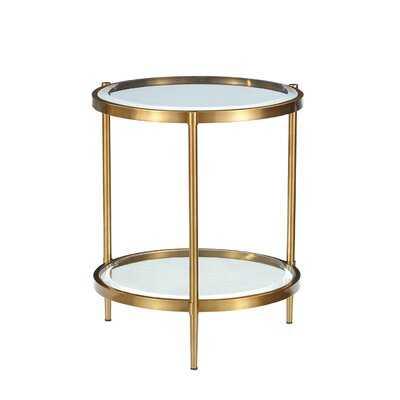 Round End Table - Wayfair