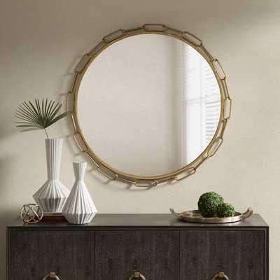 Chainlink Accent Mirror - Wayfair