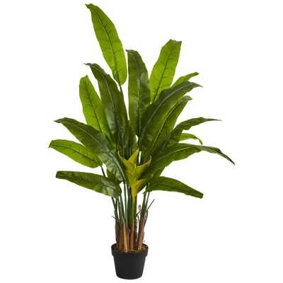 Indoor 4.5 ft. Traveler's Palm Artificial Tree - Home Depot