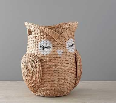 Shaped Critter Storage, Owl - Pottery Barn Kids