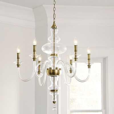 Mila Blown Glass Chandelier   - Ballard Designs - Ballard Designs