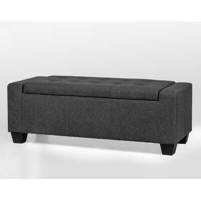 Keane Upholstered Storage Bench - Wayfair