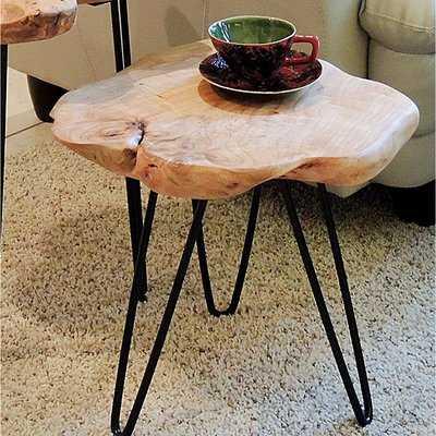 Cedar End Table - Wayfair