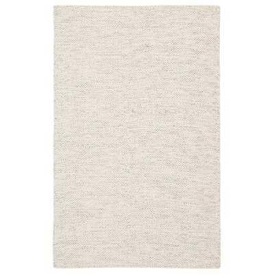 Doyle Handwoven Flatweave Wool Ivory Area Rug - Wayfair