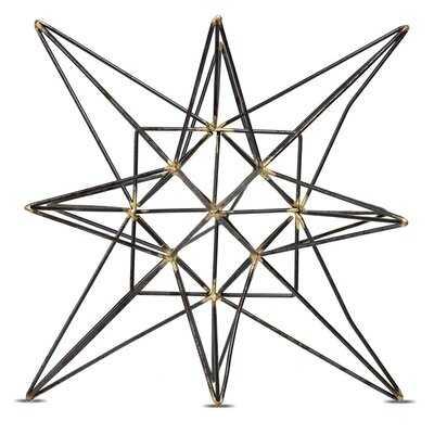 Metal Star Table Top Decor Sculpture - Wayfair