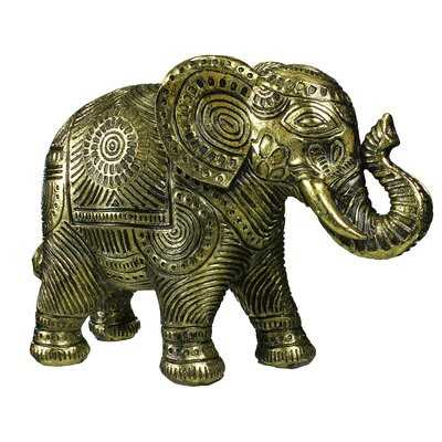 Hille Polyresin Elephant - Wayfair