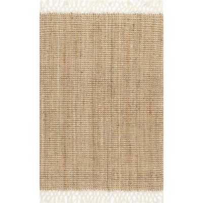 Raleigh Natural 8 ft. x 10 ft. Area Rug - Home Depot