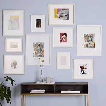 Gallery Frames, White, Set of 10 - West Elm