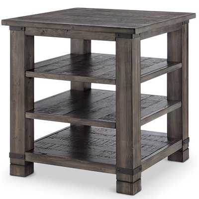 Wood End Table - Wayfair