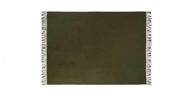 Mollo Thyme Green Throw - Article