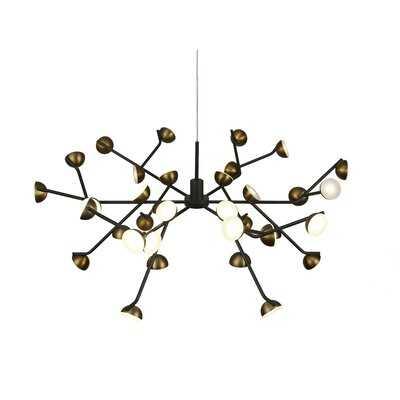 Veda 36-Light LED Sputnik Chandelier - Wayfair