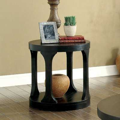 Haywood Transitional End Table - Wayfair
