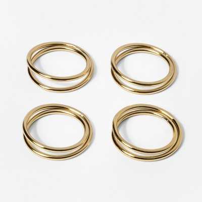 Napkin Ring Gold - Threshold - Target