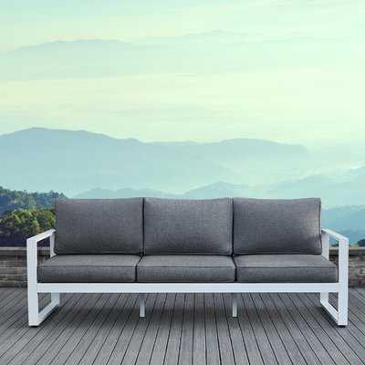 Baltic Patio Sofa with Cushions - Wayfair