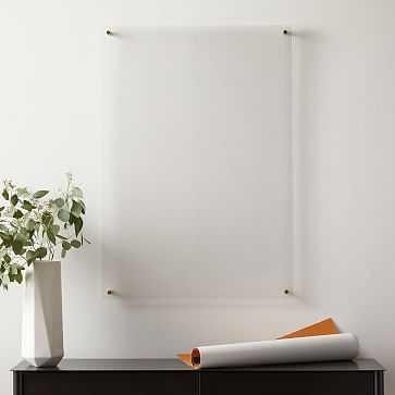 "Modern Acrylic Frame, 23"" x 33"" - West Elm"