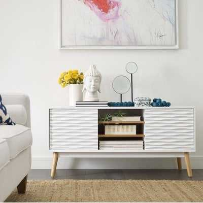 Frady Solid Wood TV Stand for TVs up to 55 inches - AllModern
