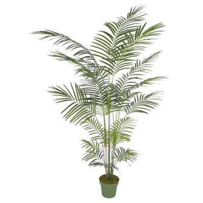 Artificial Areca Palm Tree Floor Silk Plant in Planter - Wayfair