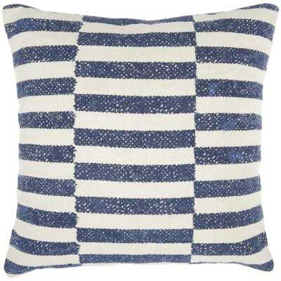 Aurora Cotton Striped Throw Pillow - AllModern