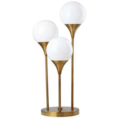 Safavieh Marzio 25.5 in. Brass Gold Table Lamp - Home Depot