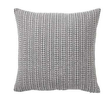 "Honeycomb Pillow Cover, 18"", Flagstone - Pottery Barn"