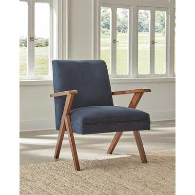 Donofrio Accent Chair Dark Blue - Wayfair