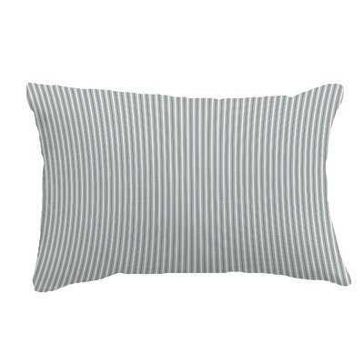 Irick Ticking Stripe Lumbar Pillow - Wayfair