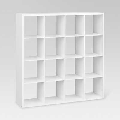 13 16-Cube Organizer Shelf White - Threshold - Target