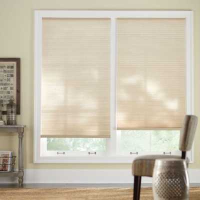 Home Decorators Collection Sahara (Red) 9/16 in. Cordless Light Filtering Cellular Shade - 29 in. W x 48 in. L (Actual Size 28.625 in. W x 48 in. L) - Home Depot