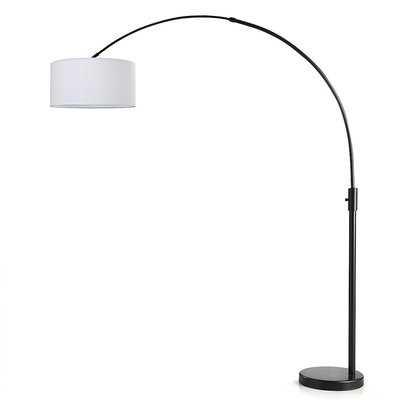"""Garris 82"""" Arched Floor Lamp - AllModern"""