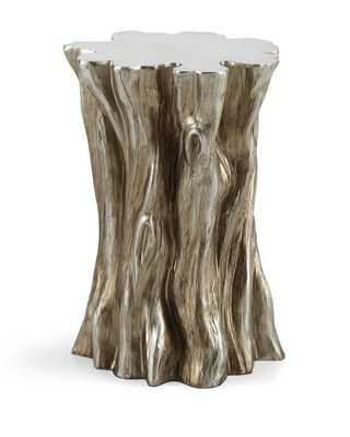 Tree Stump Accent Table - Horchow