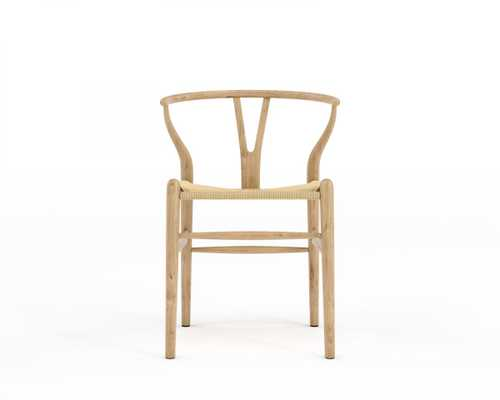 Wishbone Chair - Natural Natural Seat Cord - Rove Concepts