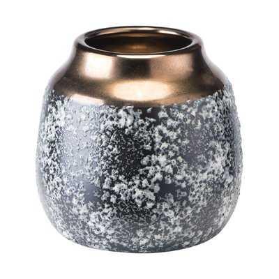 Spiritwind Stoneware Metal Table Vase - Wayfair