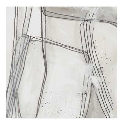 'Abstract Logic II' Acrylic Painting Print on Wrapped Canvas - Wayfair