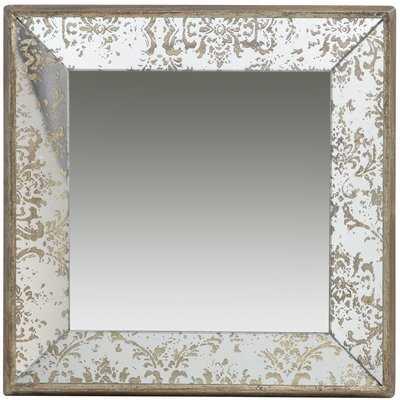 Zia Tray Square Wall Mirror - Wayfair