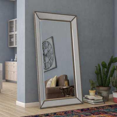 Kehl Modern & Contemporary Beveled Beaded Full Length Mirror - Wayfair