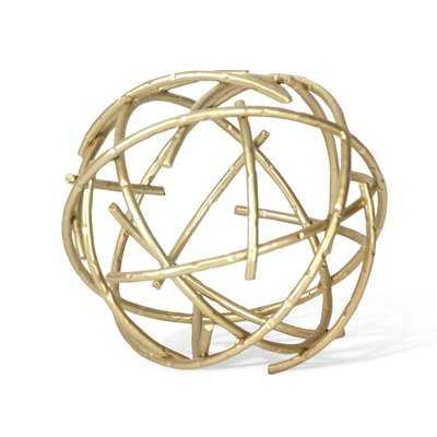 Sphere Sculpture - Wayfair