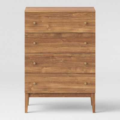 Siegel 4 Drawer Chest Walnut - Project 62 - Target