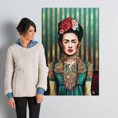 'Frida' Graphic Art on Wrapped Canvas - Wayfair