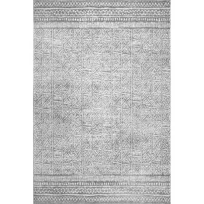 Lohan Gray Area Rug - Wayfair