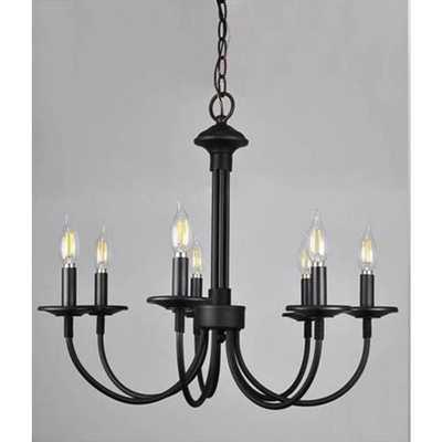 Monteaux Lighting Monteaux 7-Light Oil Rubbed Bronze Chandelier - Home Depot