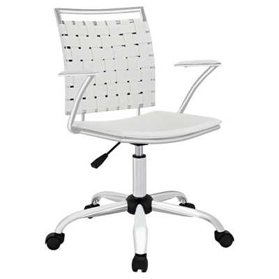 Office Chair Modway Winter White - Target