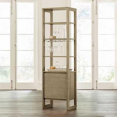 Prescott Media Bar/Tower - Crate and Barrel