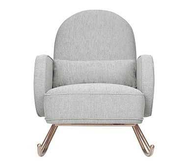 Nursery Works Compass Rocker, Light Grey, Unlimited Flat Rate Delivery - Pottery Barn Kids
